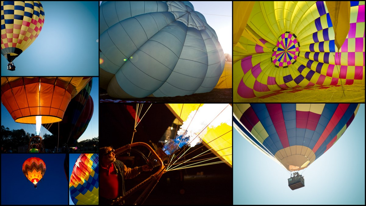 Windsor Hot Air Balloon Classic 2011 collage