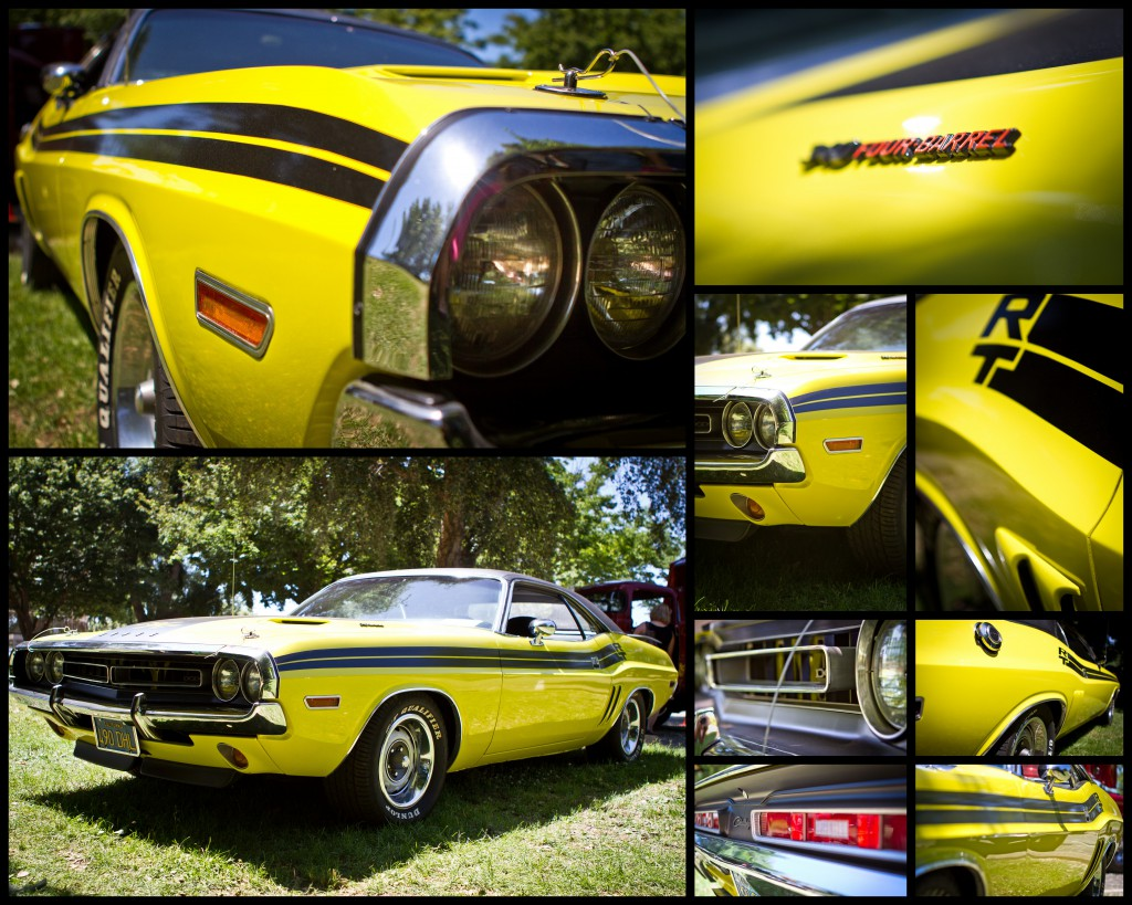 Curious Yellow 1971 Challenger