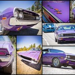 Purple Dodge Challenger