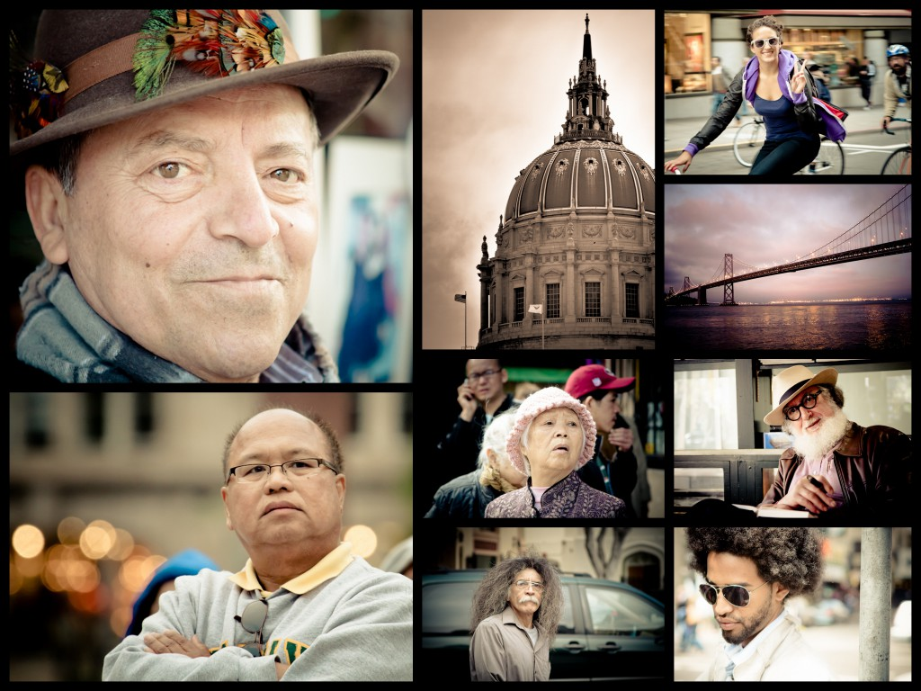 Collage of photos from San Francisco
